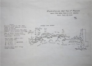 Image of hand-drawn linen map