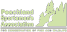 Peachland Sportsmans Association Logo