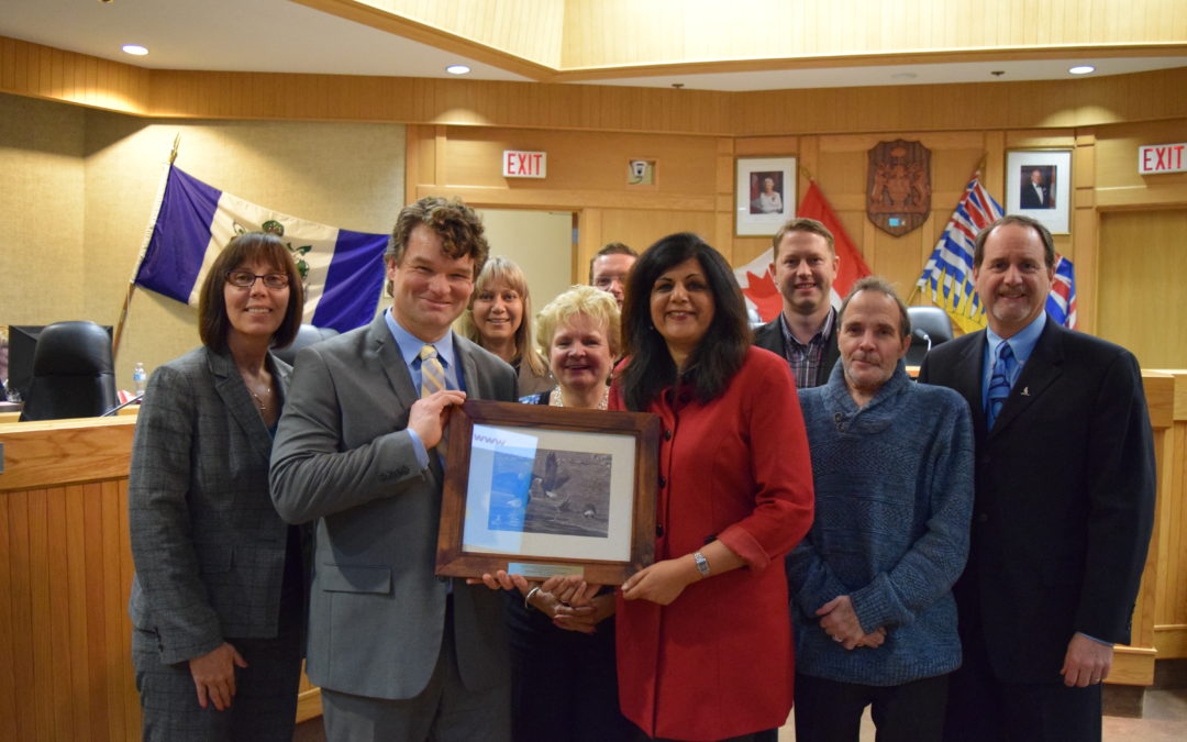 City of Kelowna wins SEAR award for Mission Creek Restoration Initiative!